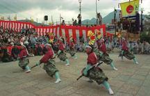 八幡町剣舞