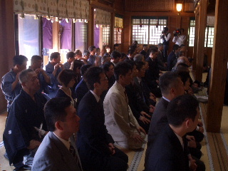 諏訪神社清祓い
